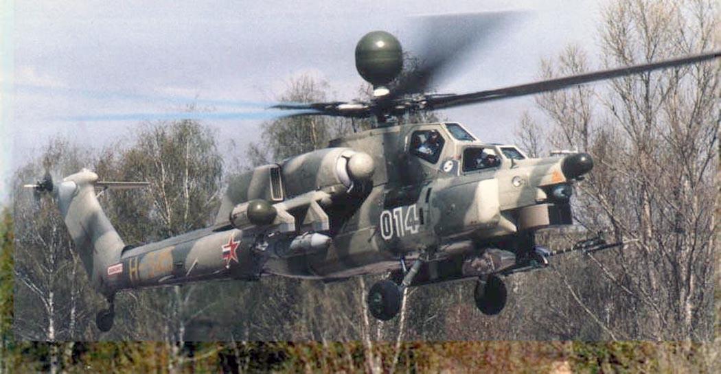 طائره الـ Mi-28 الروسية Mi28n-4