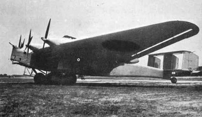самолет ki-20 фирмой mitsubishi.