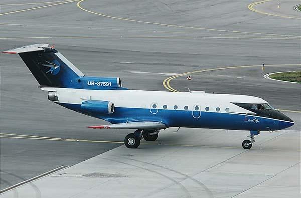 самолёт як-40 фото
